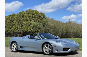 2004 Ferrari 360 Spider *Call For Price